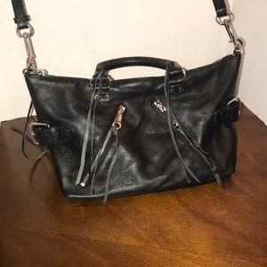 Rebecca Minkoff black zippered bag